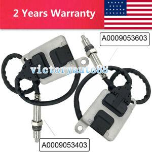 New 2PCS Nox Sensor A0009053403 + A0009053603 for Benz W166 A00090561