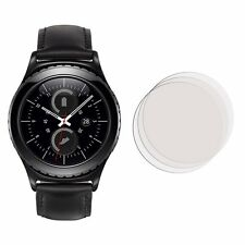 2 Membrane Screen Protectors For Samsung Gear S2 Classic - Glossy Cover Guard
