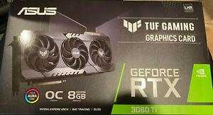 ✅ASUS TUF GeForce RTX 3060 Ti OC 8GB GDDR6 GPU LHR 🔥FREE 2 DAY SHIPPING🔥