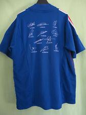 Maillot Equipe de France 2002 Signé Home Adidas dedicacé Football Jersey - L
