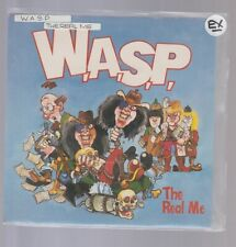 """W.A.S.P-THE REAL ME-UK 1989.CAPITOL RECORDS 7"""" 45 IN PICTURE SLEEVE/EXCELLENT."""
