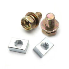 Scooter ATV DIRT BIKE Battery Terminal Nut and Bolt M5x10mm Universal