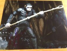 PLANET OF THE APES ANDY SERKIS Signed 8x10 Photo COA Proof Star Wars