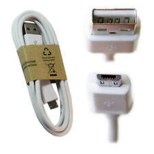 Micro USB Ladekabel für alle micro-USB Geräte 1m Weiss Datenkabel Mikro USB