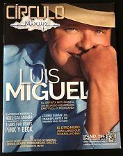Revista  / Magazine Circulo México Luis Miguel