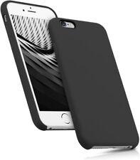 Funda Silicona color Negro para iPhone 6 / 6+ /6s / 6s+/ 7/ 7+/ 8 / 8 / SE(2020)