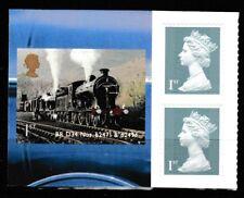 Scozzese Locomotive Ex-Booklet MNH 3 Francobolli 2012 Gran Bretagna#3111,