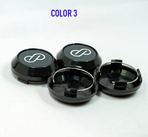 4x64mm ENKEI Carbon Black Car Wheel Center Cap Emblem Sticker Cap Auto Styling