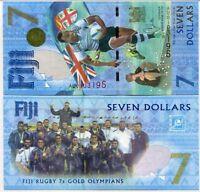 Fiji 7 Dollars 2016/2017 Comm. P 120 UNC