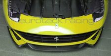 Ferrari F12 Berlinetta Carbon Fiber Front Lip 3pc Set NEW! USA SELLER!