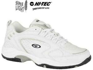 Hi-Tec Trainers Blast LITE White Lace Up Sports Gym Mens Size 6 - 16 uk