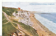 Dorset Postcard - Bournemouth - Durley Chine Cliff     MB1516