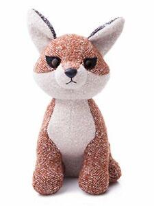 Aurora World Fabbies Fox Plush Toy (Small, Brown/Light Brown/White)