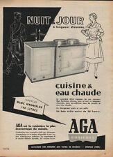 Publicité  AGA rosieres  cuisine & eau chaude