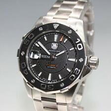 Tag Heuer Aquaracer Calibre 5 Automatic 500M Stainless Men's Dive Watch WAJ2110