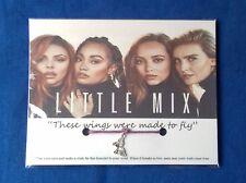 LITTLE MIX Bracelet With BUTTERFLY Charm Birthday XMAS Daughter Big Fan Friend