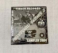Rare Sampler CD 2004 Rockstar Energy Punkstar Skateboards Redefining Scenes 2