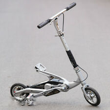 Scooter Fold Pedal 8 Inch Wheels Zike Razor Air Hidden Chain Kids Adult Ride