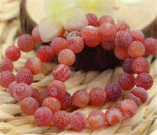 Hot!!!Multicolor Frost Dream Fire Dragon Veins Agate Loose Beads Gems 14''