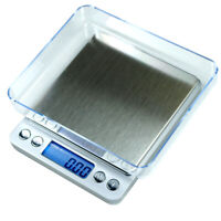 500g x 0.01g Digital Precision Scale ACCT-500 Counting Scale with Trays