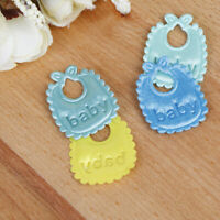 2Pcs 1:12 Dollhouse miniature accessories mini baby bib for dollhouse decorDD
