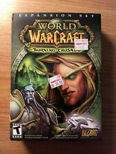 World of Warcraft: The Burning Crusade (PC, 2007) Video Game Expansion Set (New)