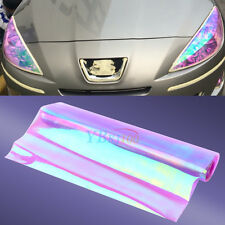 "12""x48"" Chameleon Purple Tint Car Van Fog Light Headlight Taillight Vinyl Film"