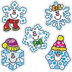Carson Dellosa Snowflakes Dazzle Stickers