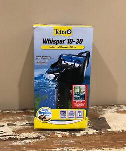 Tetra Whisper Internal Power FILTER 10-30i Aquarium NEW UNUSED OPEN BOX ITEM!