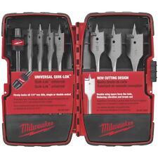 Milwaukee 8Pc Spade Bit Set