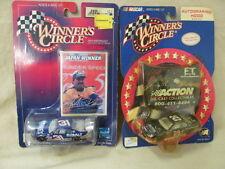 NASCAR Winner's Circle #29 Autograph Hood E.T. & #31 Mike Skinner Lowe's 1:64