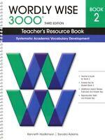 Wordly Wise 3000 Level 2 Teacher's Resource Book Third 3rd Edition 2nd Grade