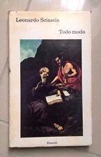 TODO MODO LEONARDO SCIASCIA EINAUDI 1974