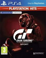 GRAN TURISMO SPORT CD FISICO CASTELLANO ESPAÑOL NUEVO PRECINTADO PS4