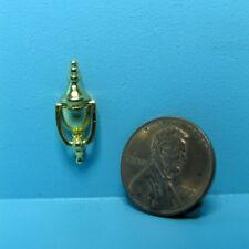 Dollhouse Miniature Gold Tone Working Door Knocker CLA05514