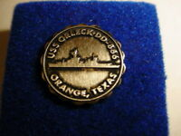 Vintage USS Orleck lapel pin