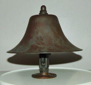 UNIQUE ANTIQUE Bronze SHIP'S BELL Unusual Design!