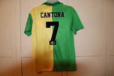 "MANCHESTER UNITED NEWTON HEATH 1992 RETRO SHIRT CANTONA 7 MEDIUM 38"" NEW"