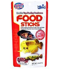 Hikari Food Sticks 57g Carnivorous Fish Food Arowana Cichlids Tropical Fish