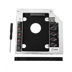 HDD Universal CD/DVD Caddy 9.5mm SATA to SATA Hard Drive Adapter For Laptop
