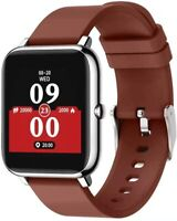 """Smart Watch Fitness Tracker Heart Rate Monitor Activity Tracker with 1.3"""" Touch"""