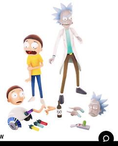 NEW Rick & Morty Sixth Scale Figure Mondo Sideshow 12 Inch Shipping Box