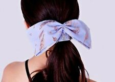 IVIVVA BY LULULEMON NWT HEADBAND BOW LAVENDER ROSE GOLD TENNIS YOGA DANCE CHEER