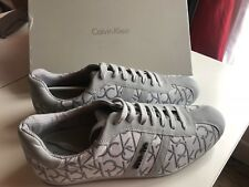 Chaussures Basket Sneakers Homme Calvin Klein George Gris Claire 44 Neuves