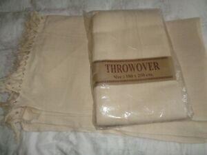 2 Cotton Throwovers