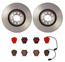 2 Rear Brake Rotors Brembo 25704 For Audi A4 A4 A6 Quattro Allroad Quattro S4