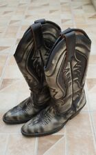 VINTAGE LEATHER COWBOY BOOTS SIZE 38 ,IN GOOD CONDITION, PLEASE SEE FOTOS