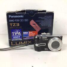 Panasonic DMC-TZ3 Black Digital Camera #565