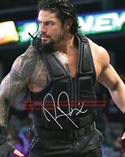 Roman Reigns  WWE Signed Autographed 8x10 Photo (RP)