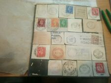 More details for book of vintage postal marks stamps 1900-1940s british and american etc